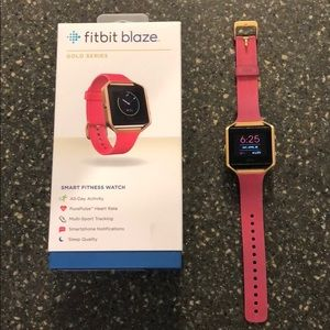 Fitbit Blaze Gold Series